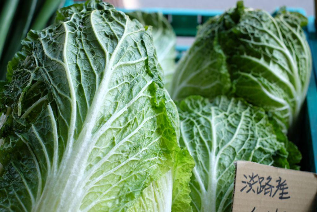 野菜を買うのはフローラルアイランドか、八百屋さんのやま高か、コーナンの産直館。近所の方にいただくことも多いです。