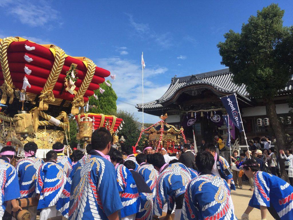 室津の秋祭りツアー