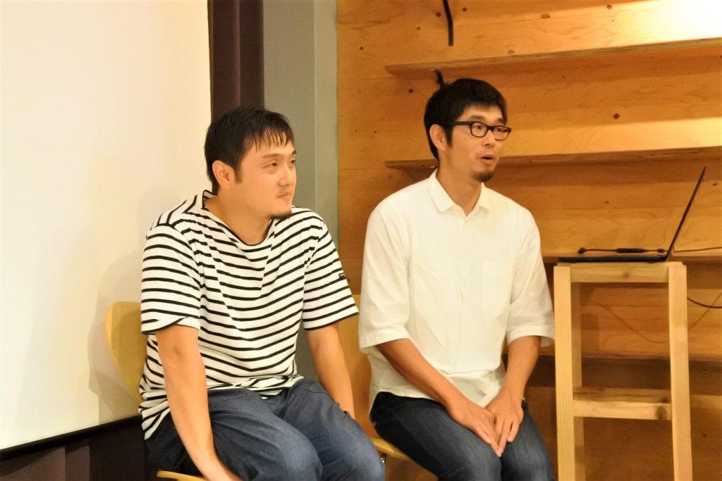 山田さんと森さん
