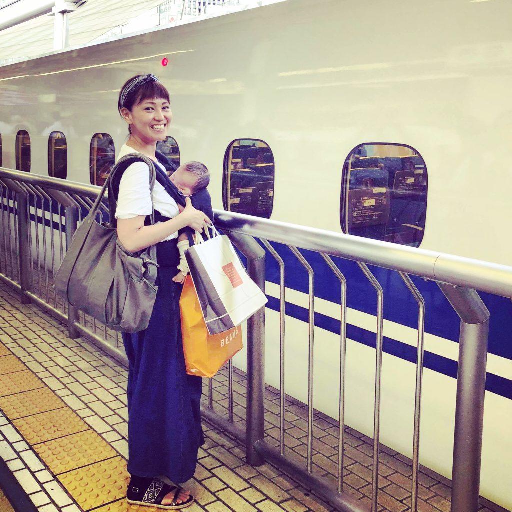神戸から新幹線