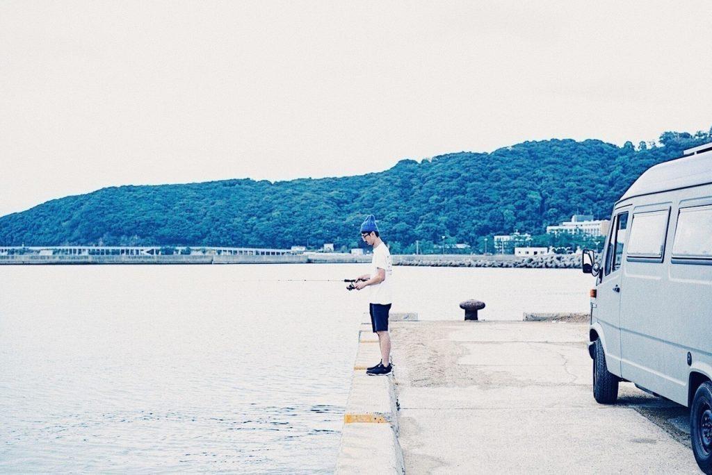 渡り鳥ジョニーさん 仕事のあと気分転換がてら釣りやお寿司を楽しみに淡路島へ