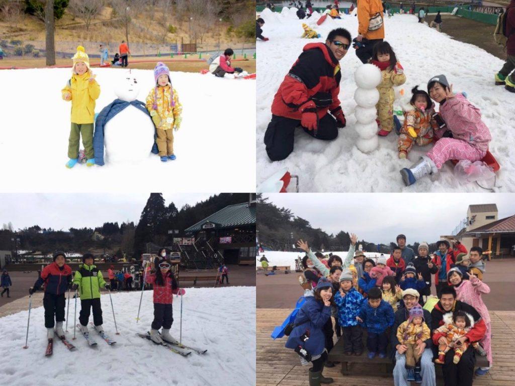 冬には、六甲山の雪山でasobi基地